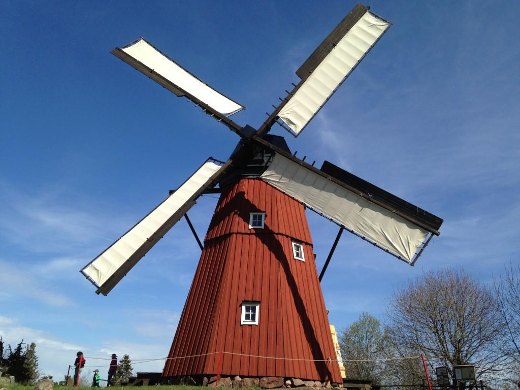 Kvarnen går med fulla segel våren 2014